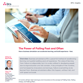 Business Simulation Can Accelerate Learning and Build Experience Article